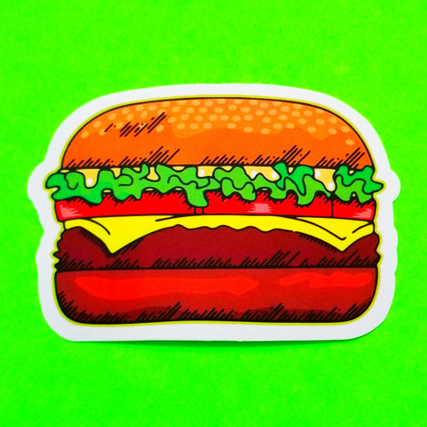 Burger Time Sticker - More Styles!