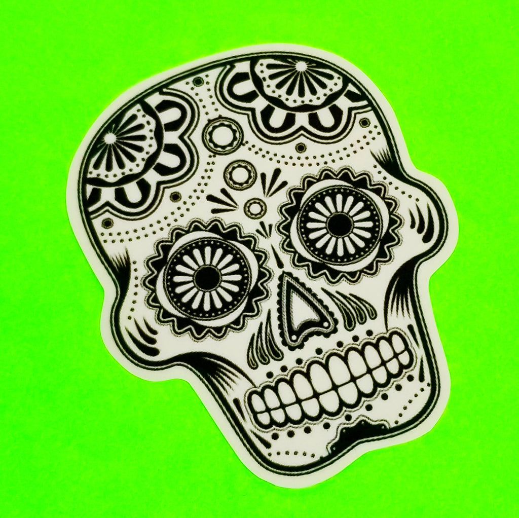 Sugar Skull Sticker - More Styles!