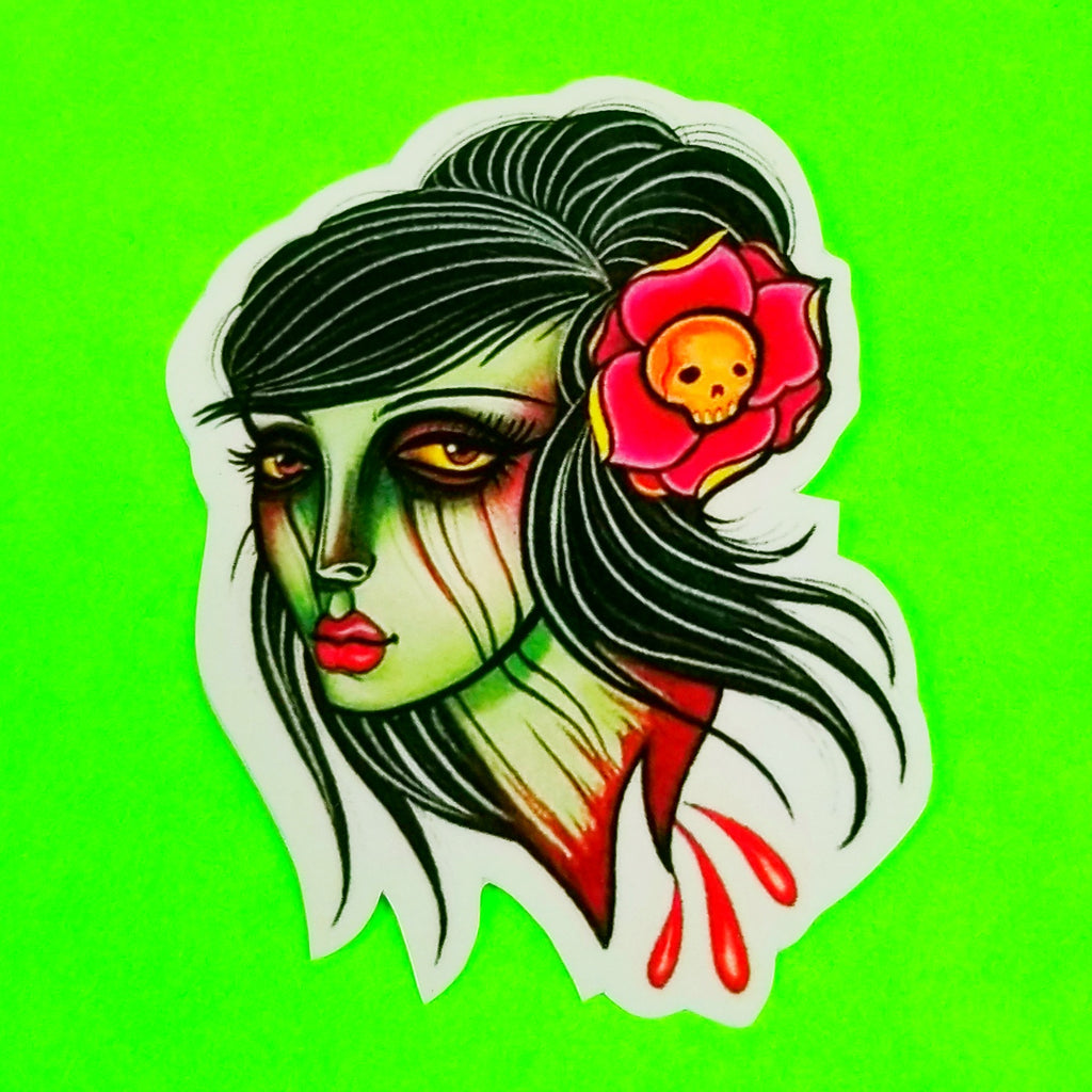 Beheaded Beauty Sticker