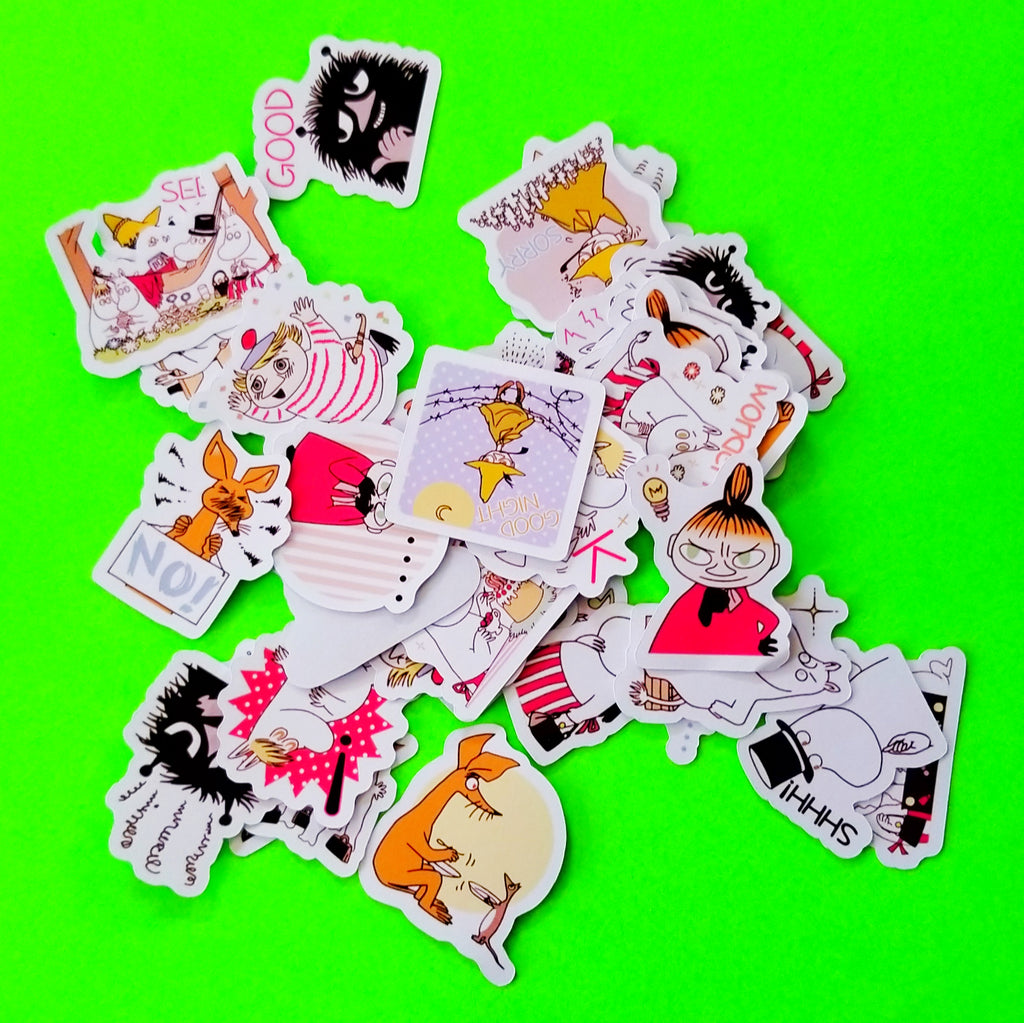 Moomin Sticker Set