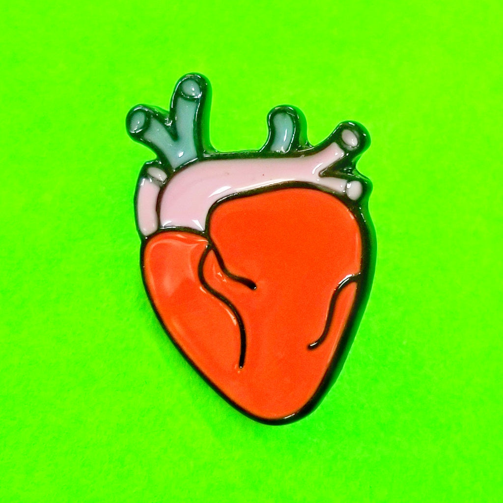 Anatomical Heart Pin