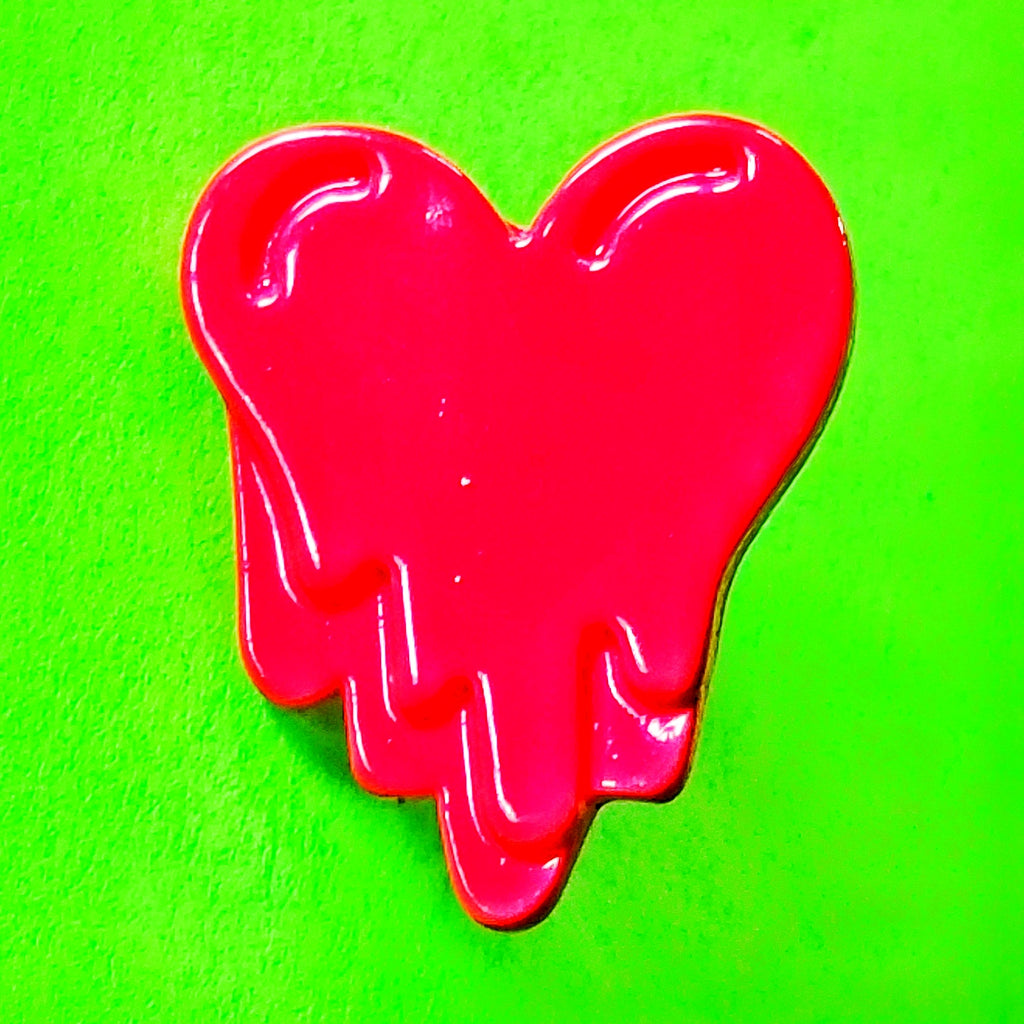 Bleeding Heart Pin - More Colours!