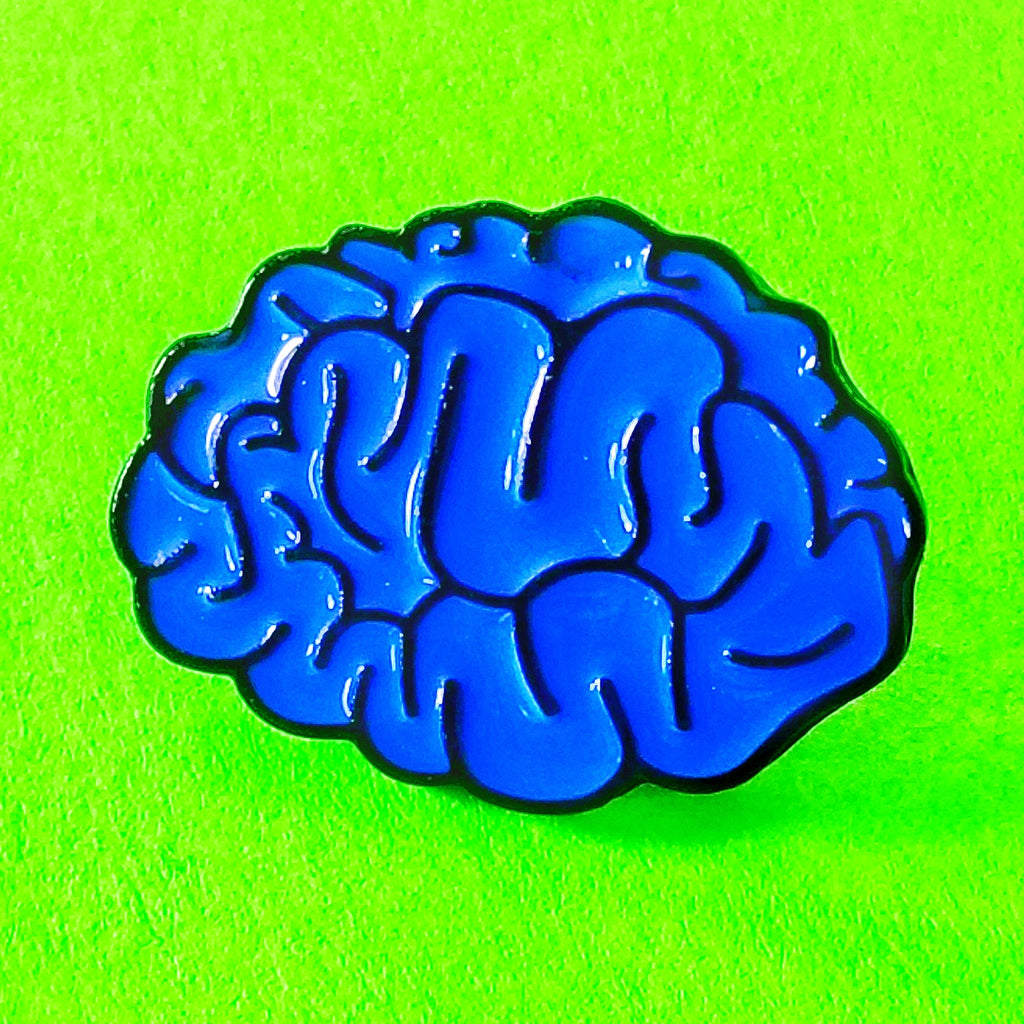 Brains Pin