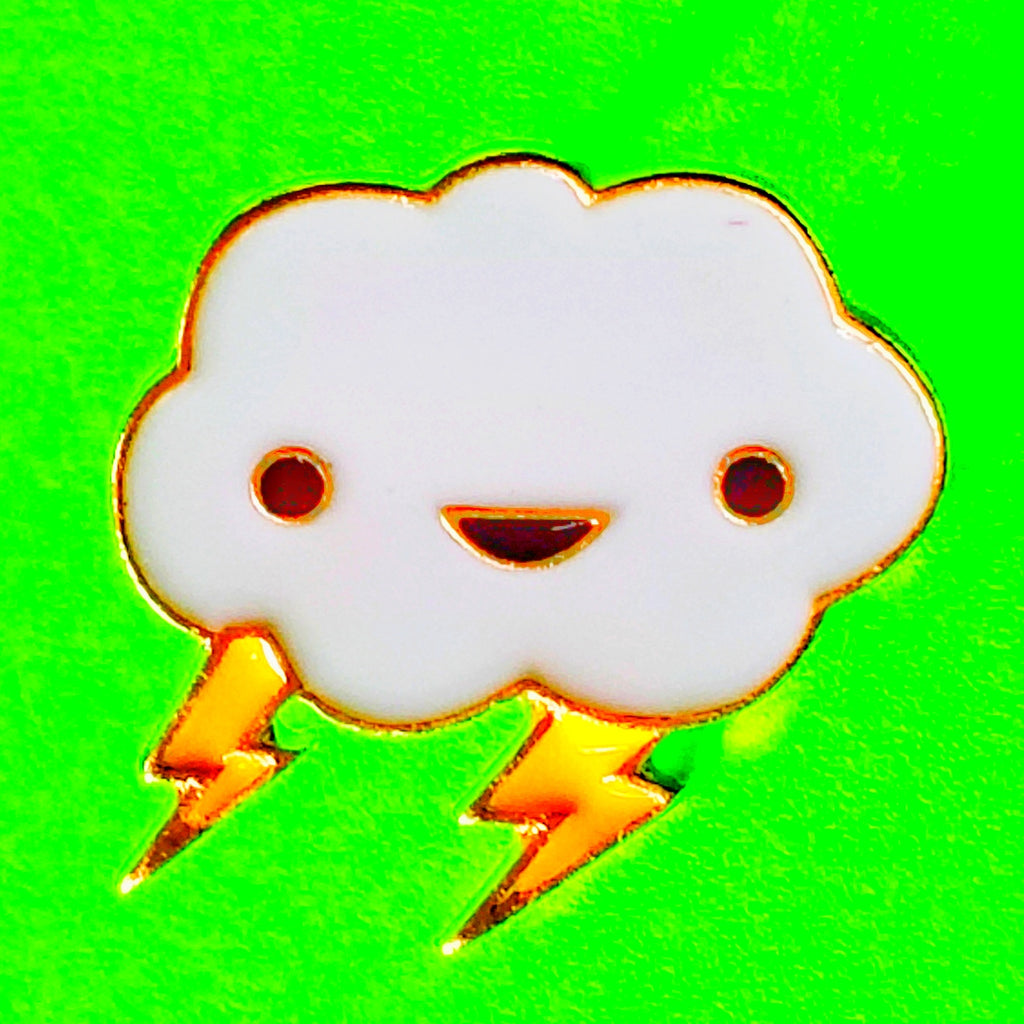 Happy Cloud Pin