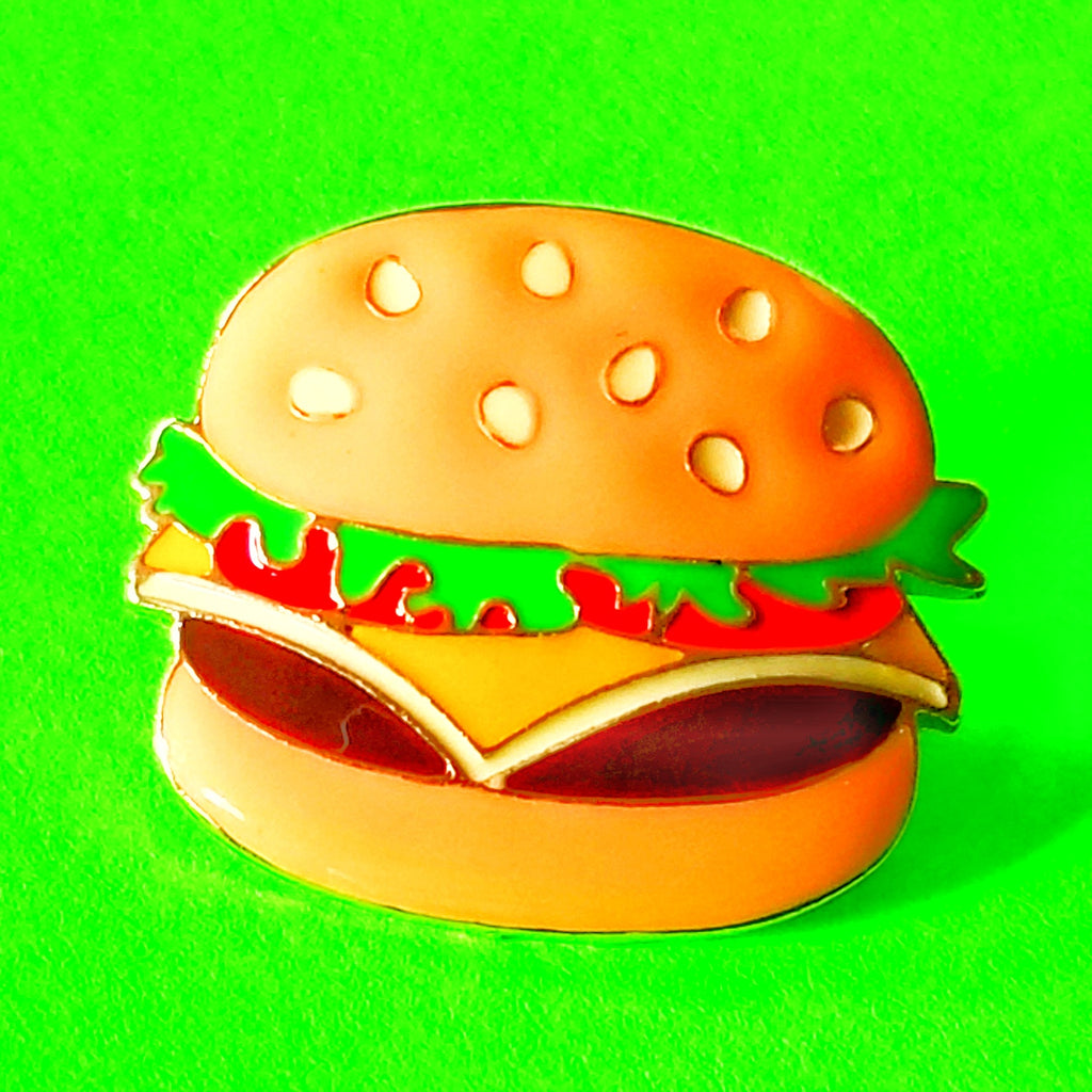 Cheeseburger Deluxe Pin
