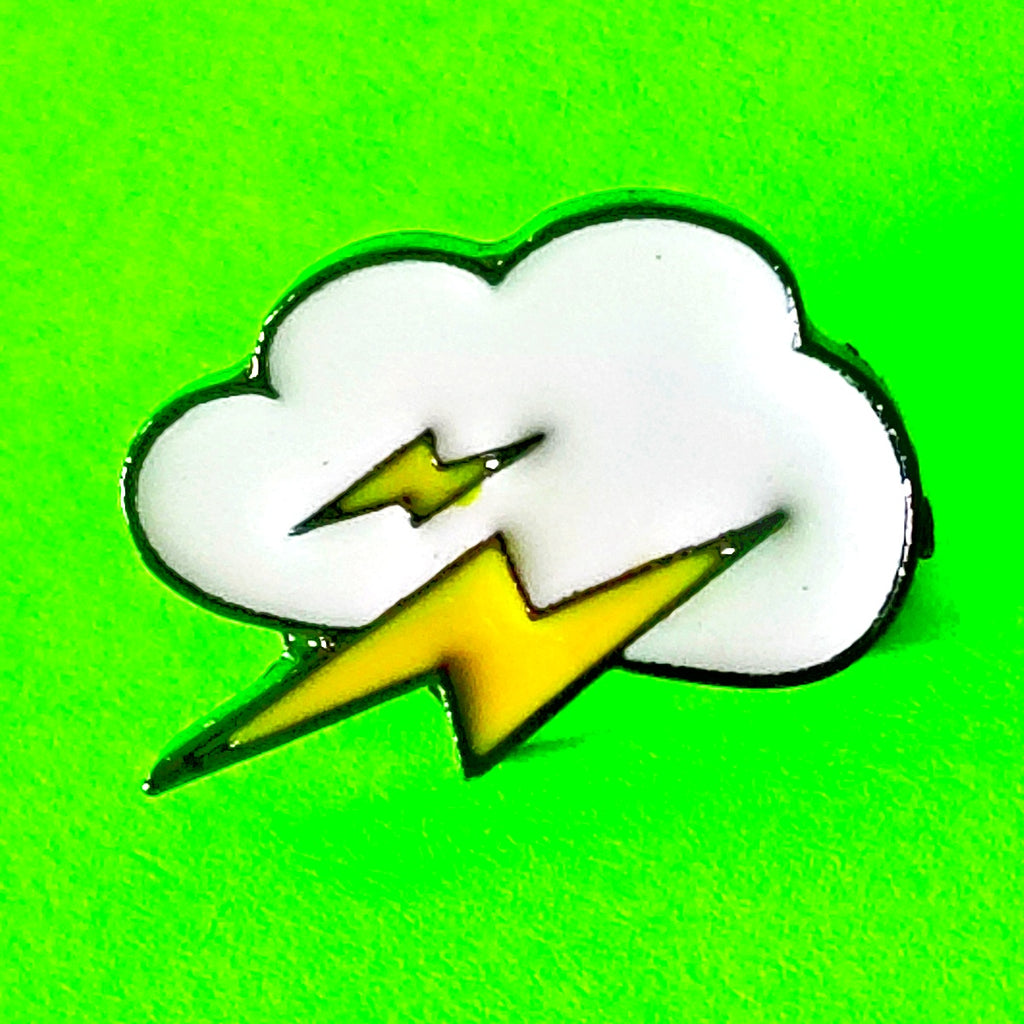 Stormy Weather Pin