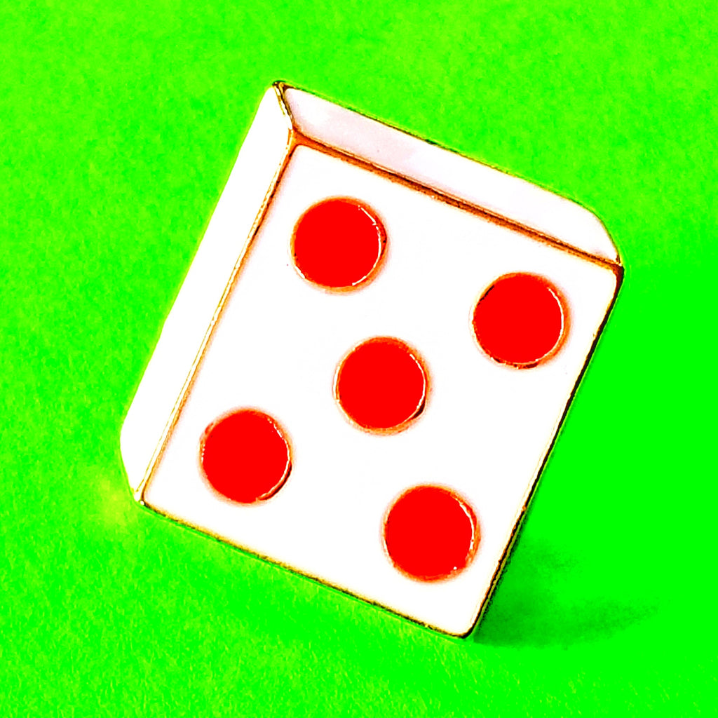 Lucky Dice Pin