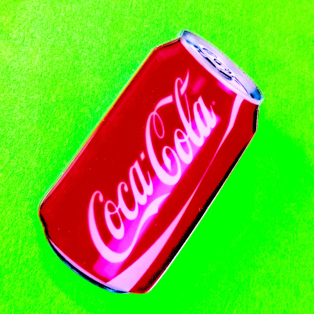 Coke Can Pin