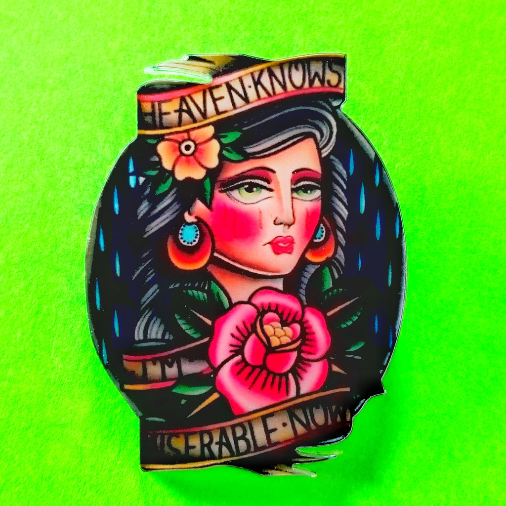 Heaven Knows Pin