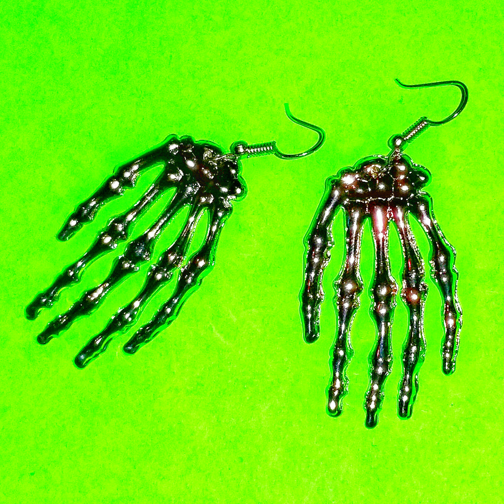 Old Bones Dangle Earrings - More Colours!