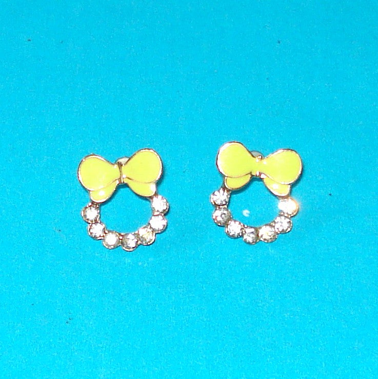 Girly Bow Earrings