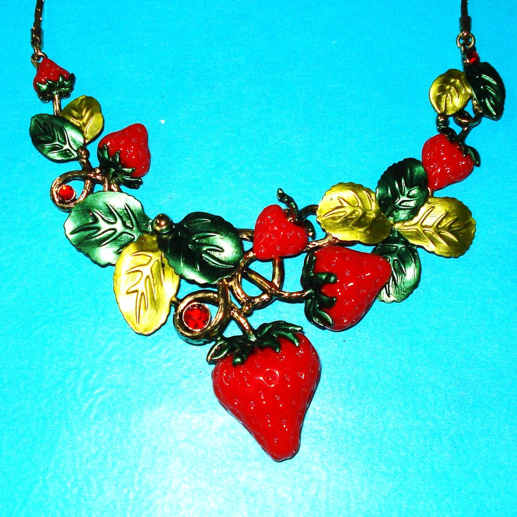 Strawberry Luxe Necklace