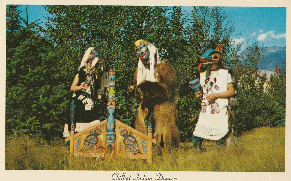 USA - Alaska - Port Chilkoot - Chilkat Dancers Postcard