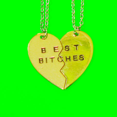 Best Bitches Two Necklace Set