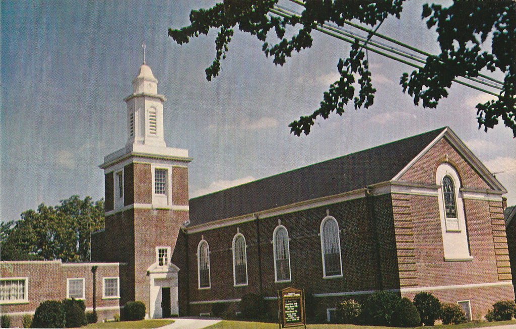USA - Delaware - Milford - Calvary Methodist Church Postcard