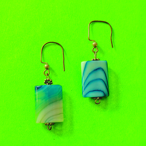 Artisan Glass Earrings
