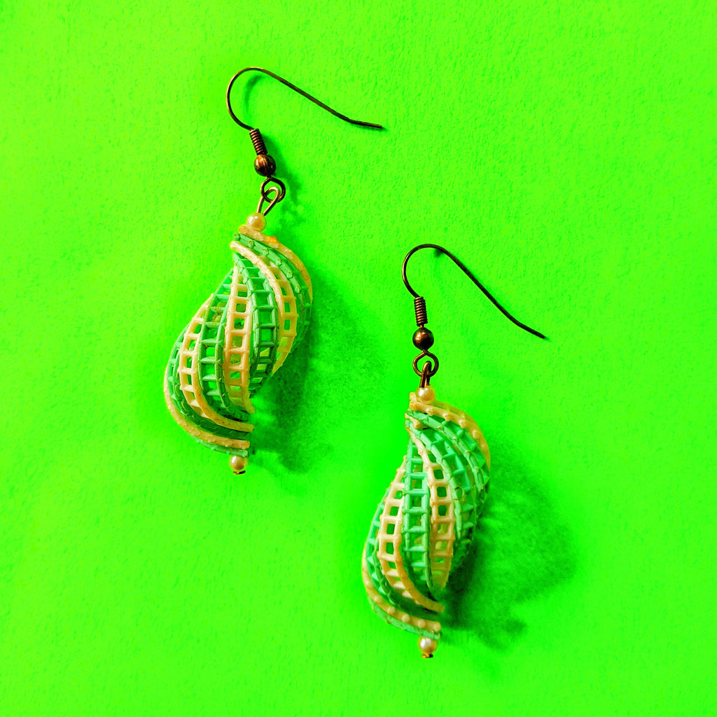 Spiral Cage Earrings