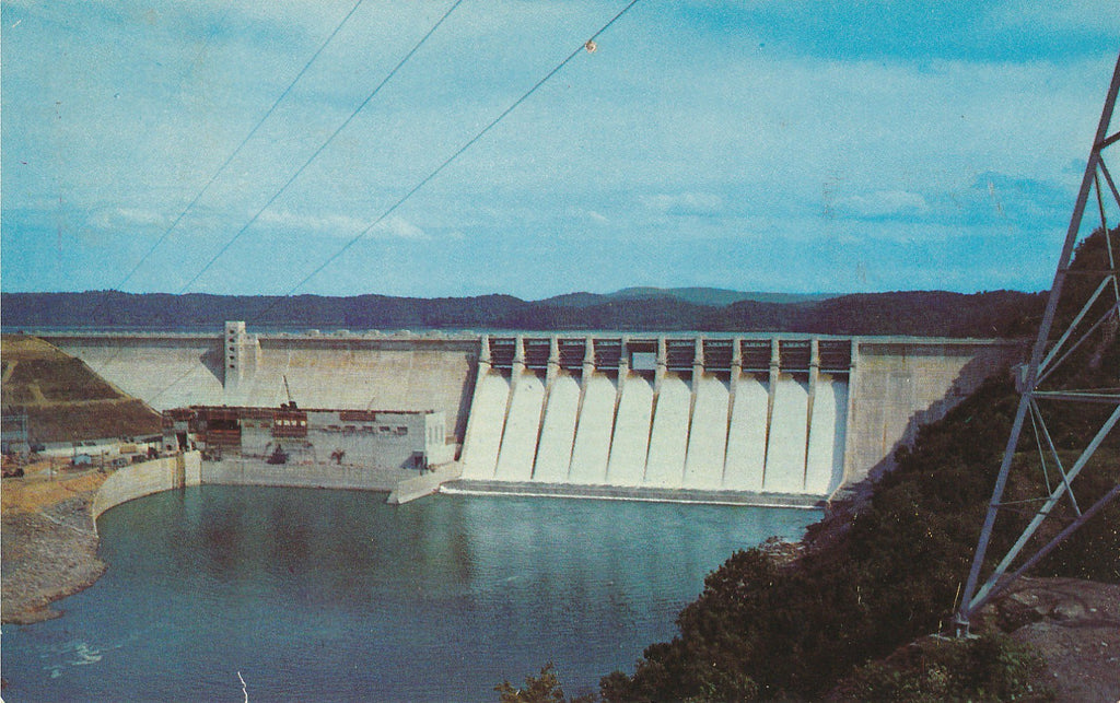 USA - Kentucky - Rowena - Wolf Creek Dam Postcard