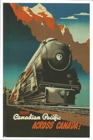 Canadian Pacific Across Canada! Postcard