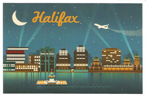 Halifax - Skyline Postcard