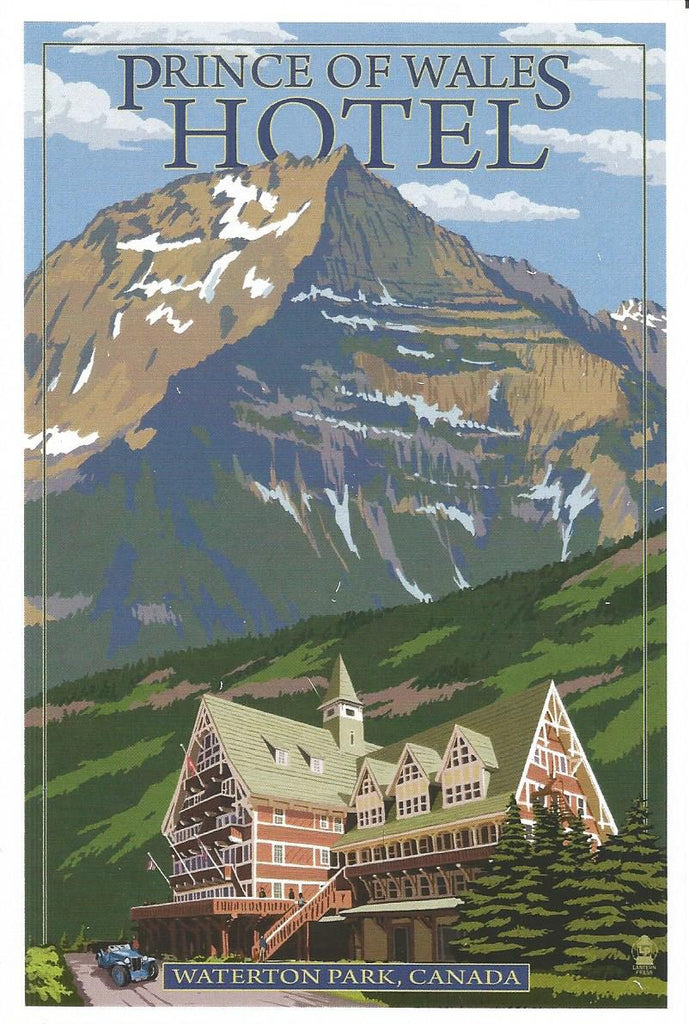 Waterton - Prince of Wales Hotel Postcard