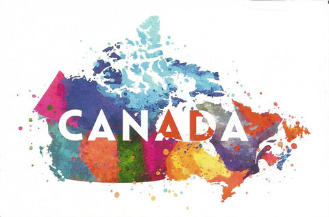 Canada - Watercolour Postcard