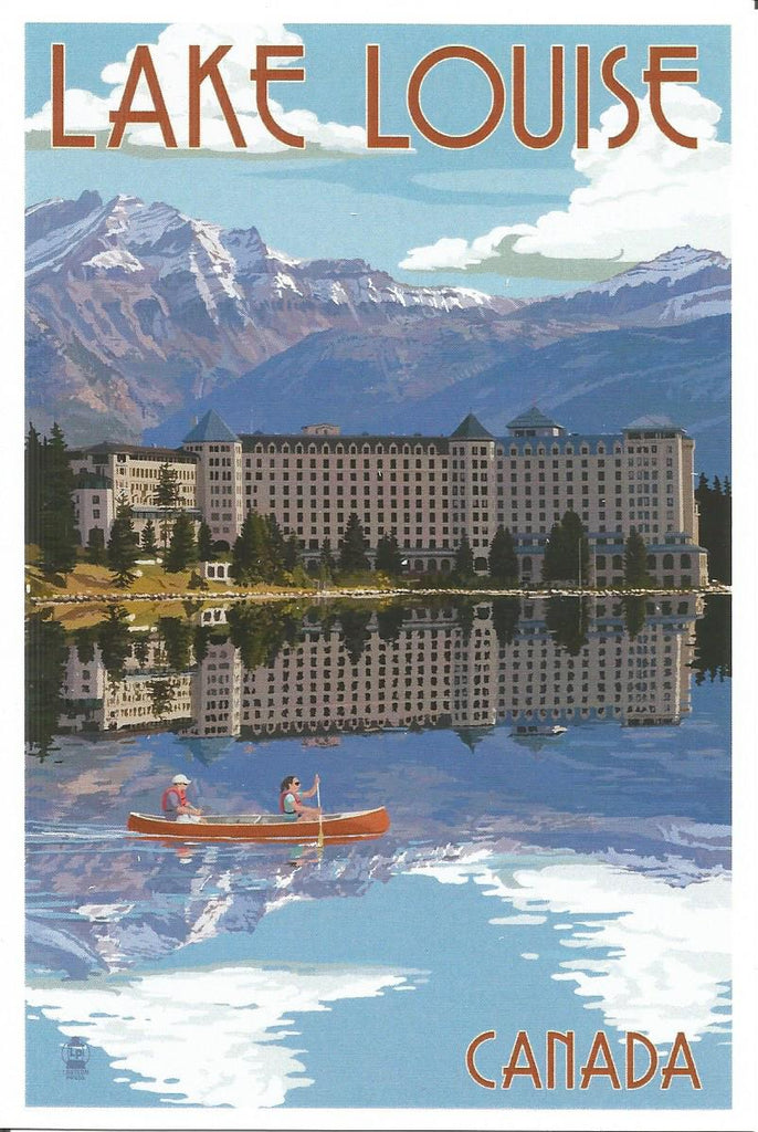 Lake Louise - Chateau Postcard