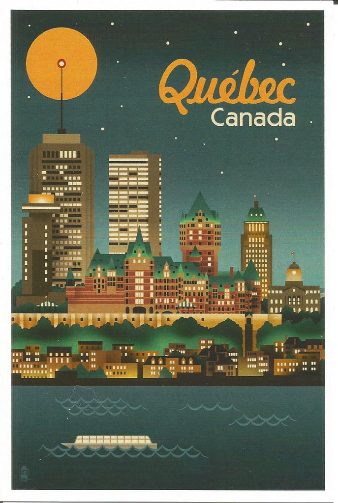 Quebec - Skyline Postcard