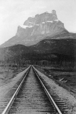 Banff - Castle Mountain Postcard