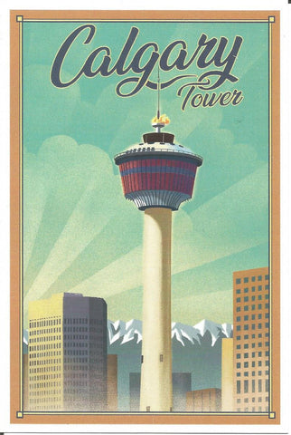 Calgary Tower Postcard