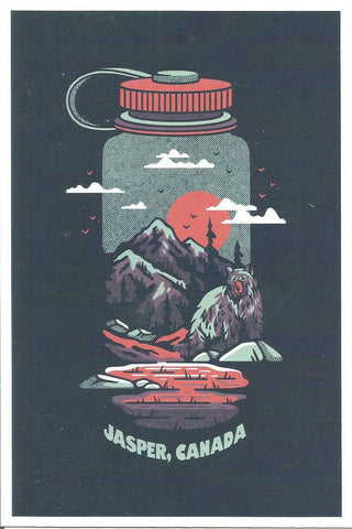 Jasper - WaterBottle Postcard