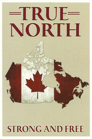 Canada - True North Postcard