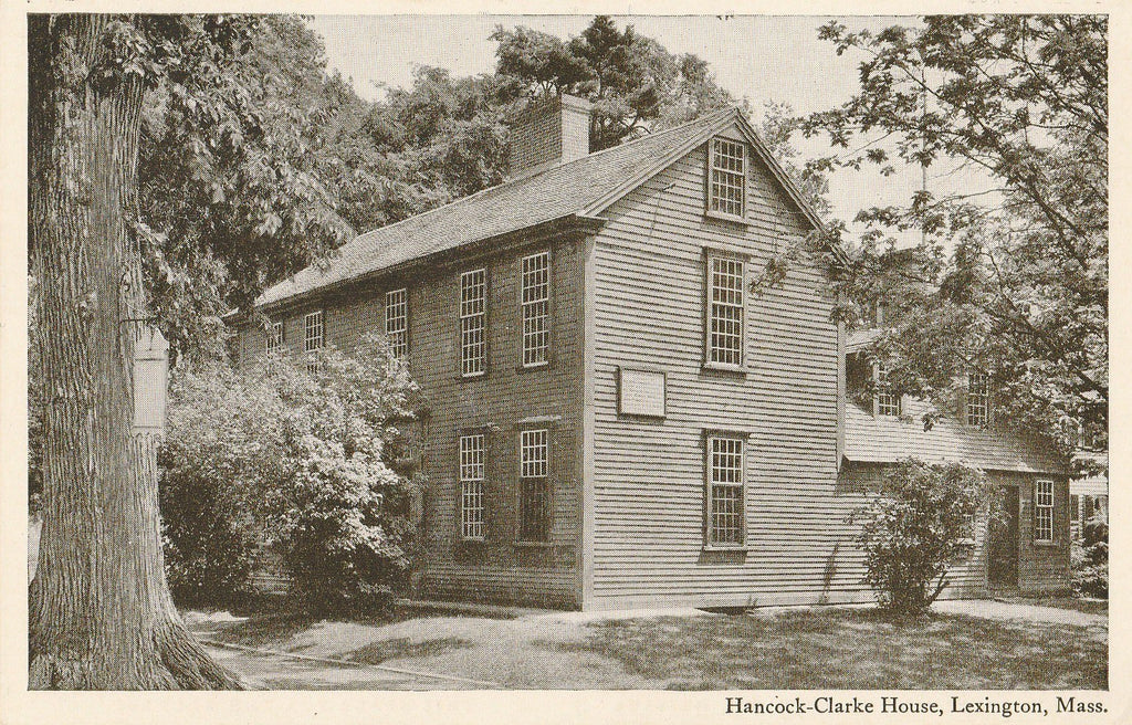 USA - Massachusetts - Lexington - Hancock Clarke House Postcard