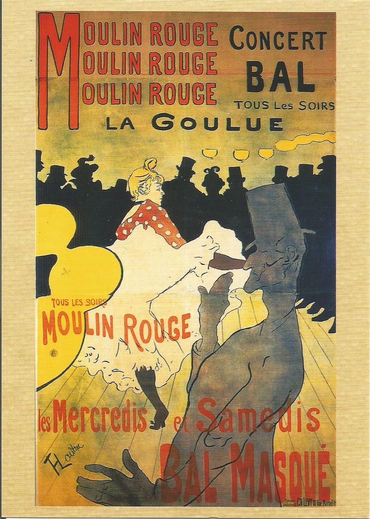 Moulin Rouge Postcard