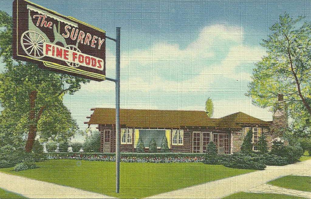 USA - Illinois - Chicago - The Surrey Postcard