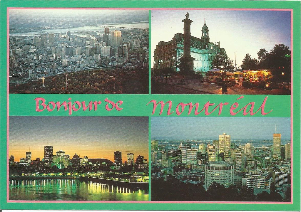 Canada - Quebec - Montreal - Multiview Postcard