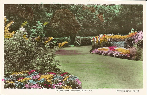 Canada - Manitoba - Winnipeg - City Park Postcard