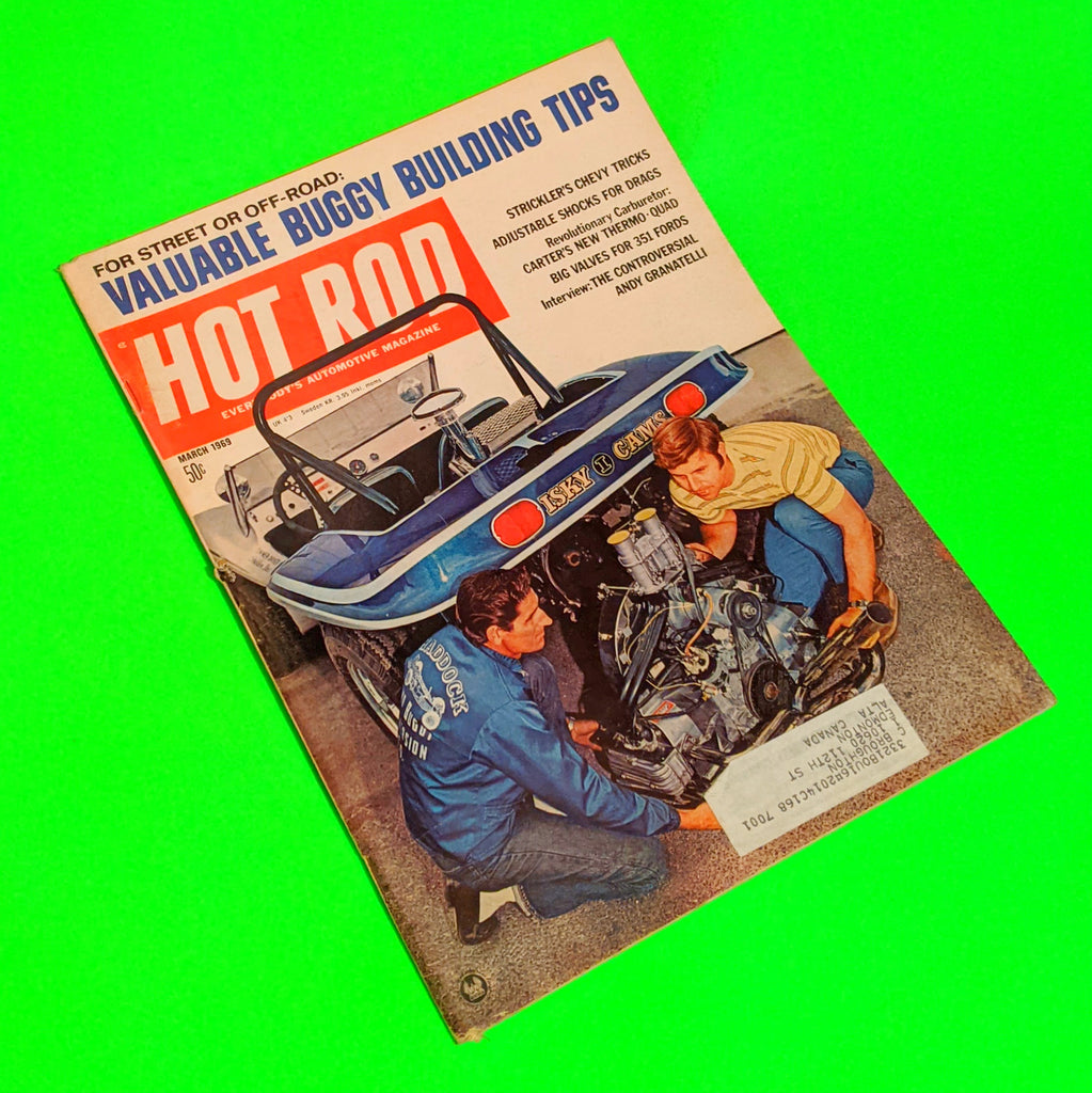 Hot Rod Magazine - March 1969