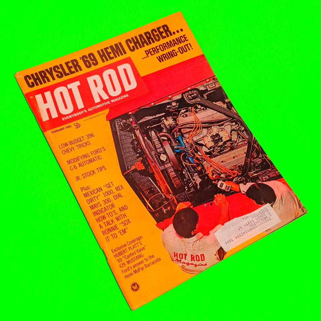 Hot Rod Magazine - February 1969