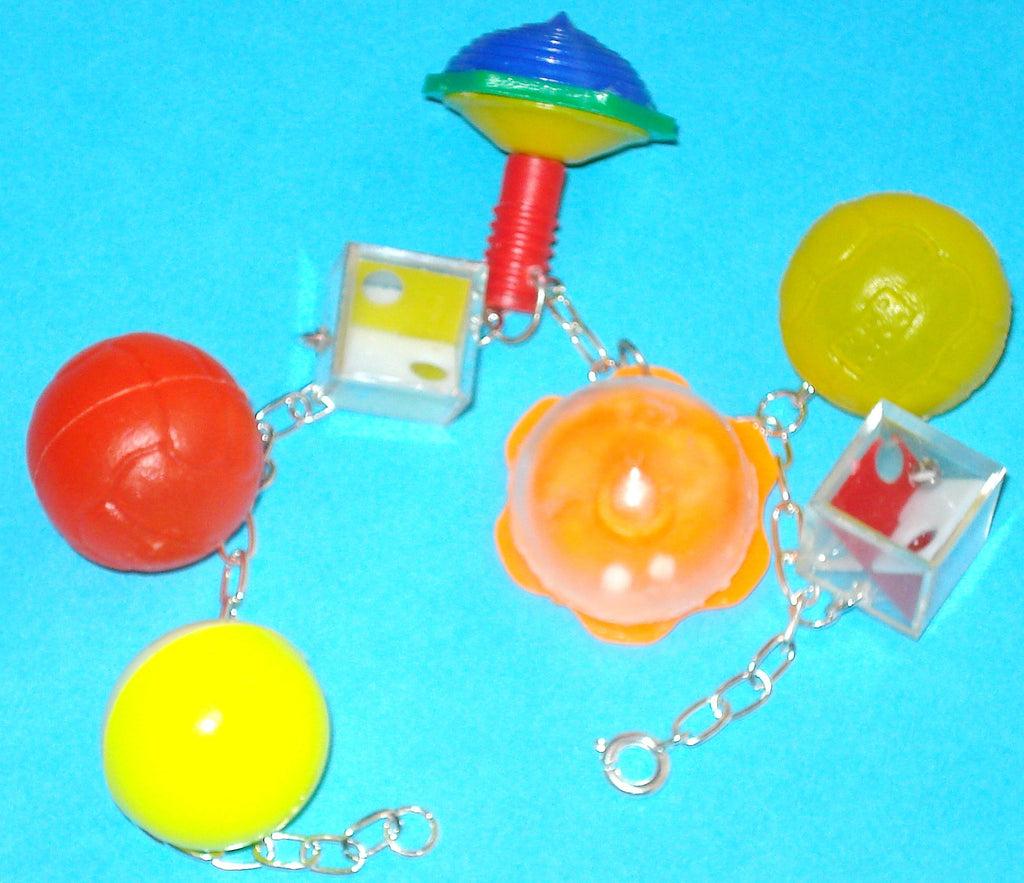 Cracker Jack Toy Charm Bracelet