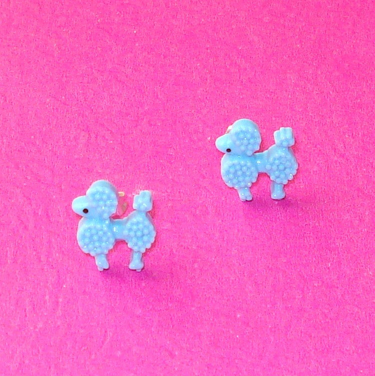 Poodle Earrings - More Colours!