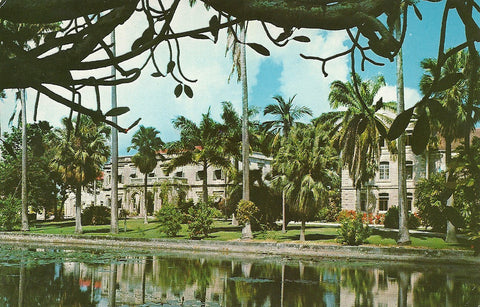 Caribean - West Indies - Barbados - Codrington College Postcard