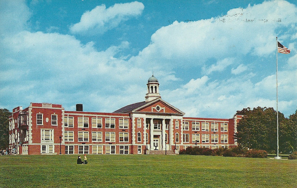 USA - New Jersey - Bridgeton - Bridgeton Junior High School Postcard