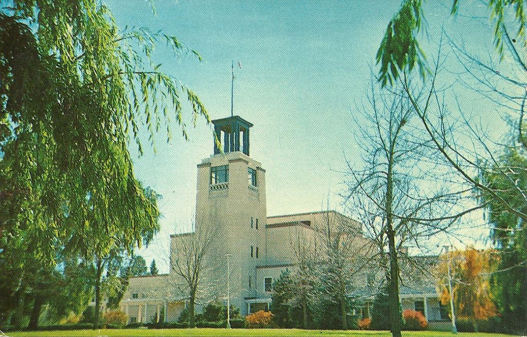 USA - New Mexico - Santa Fe - State Capitol Postcard
