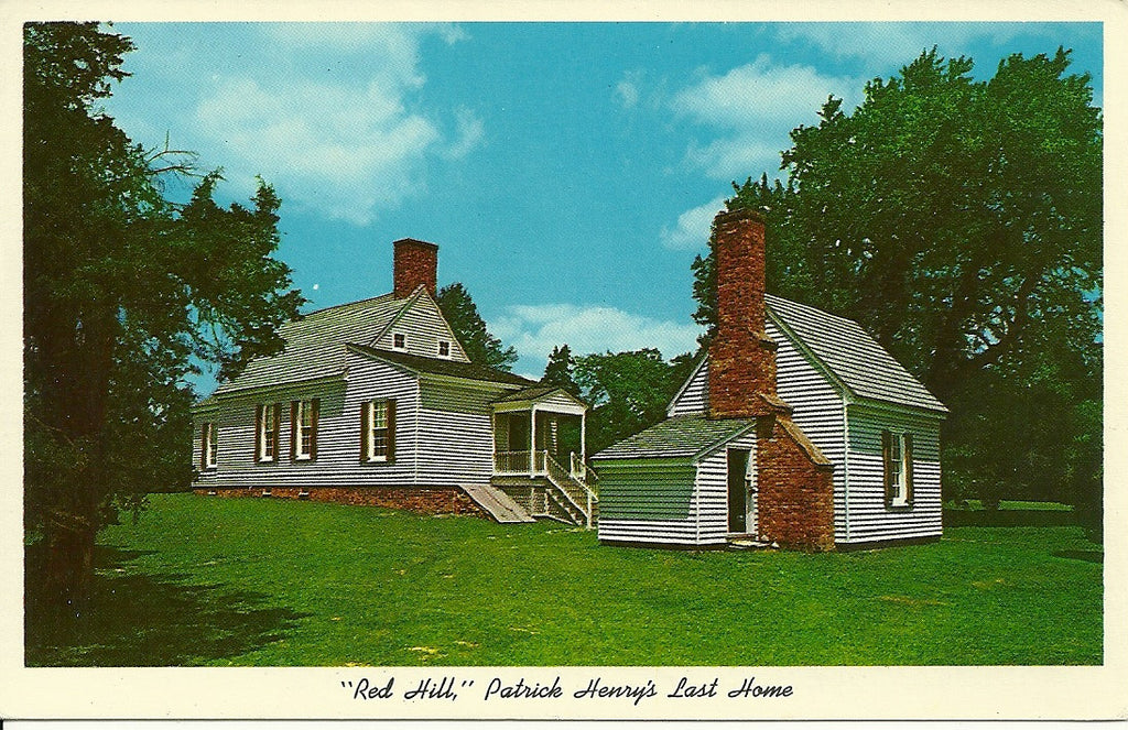 USA - Virginia - Brookneal - Red Hill Postcard