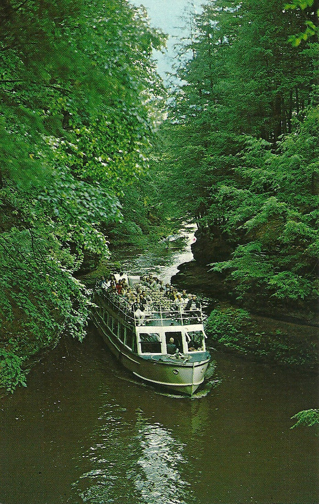 USA - Wisconsin - Wisconsin Dells - Cold Water Canyon Postcard