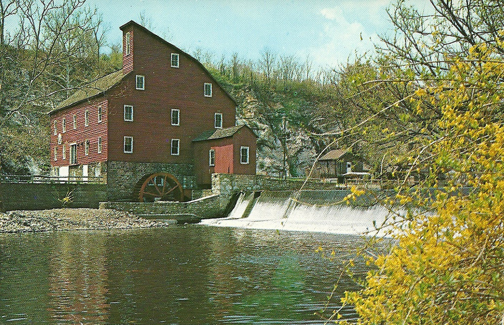 USA - New Jersey - Clinton - Red Mill Museum Postcard