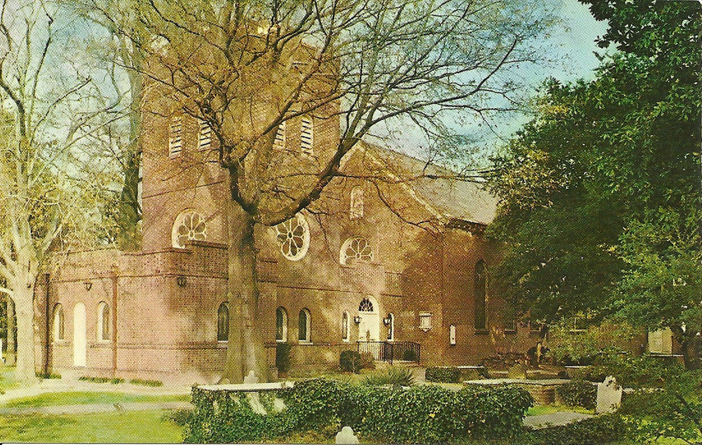 USA - Virginia - Norfolk - St. Paul's Church Postcard