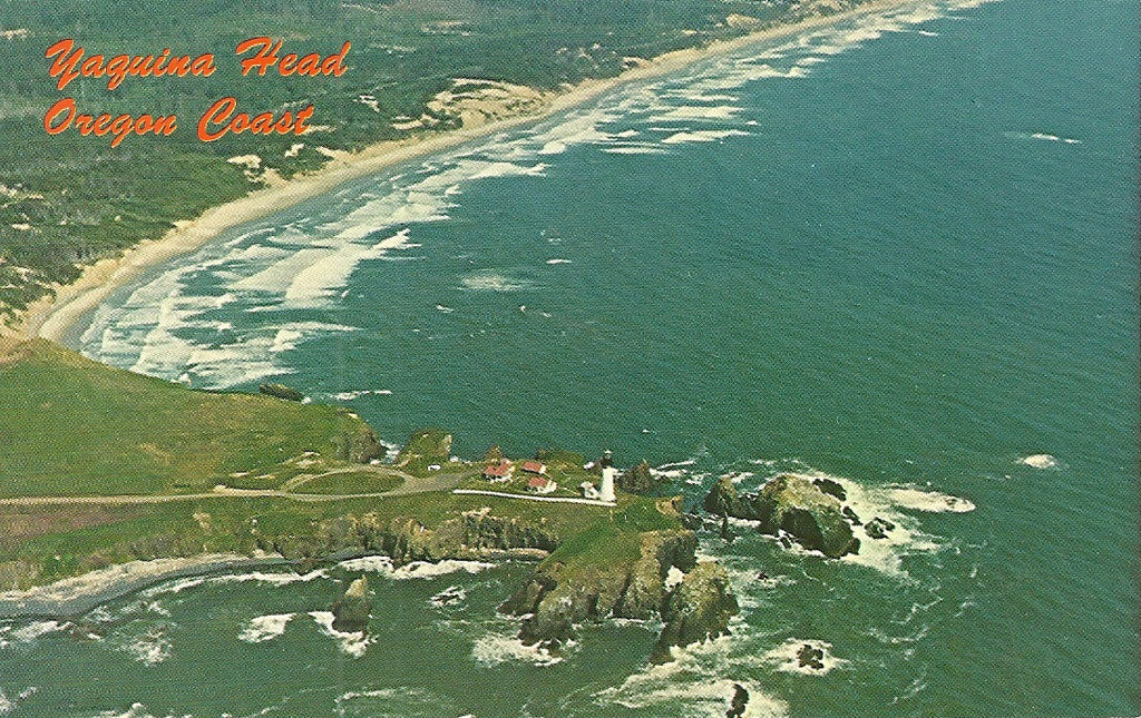 USA - Oregon - Yaquina Head Lighthouse Postcard