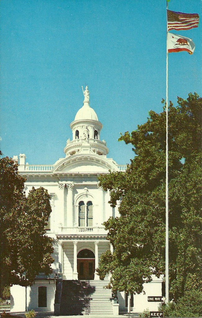 USA - California - Merced - Merced County Courthouse Postcard